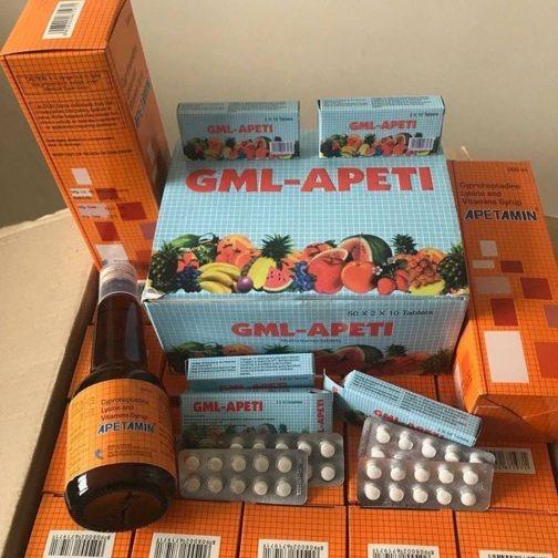 100% Original Apetamin Vitamin Syrup 200ml.