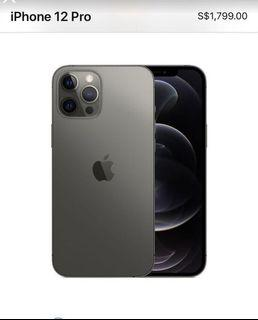 128GB Iphone 12 pro max Recontract