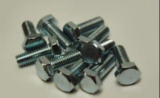 4pcs M6 x 20 Titanium Ti Screw Bolt hex Socket Cap head Aerospace Grade H4