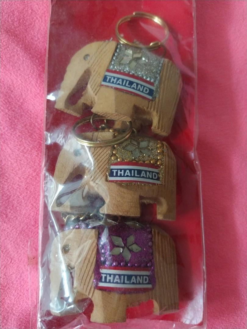 全新泰國旅遊帶回代表吉祥的大象鑰匙圈(可吊包包上裝飾