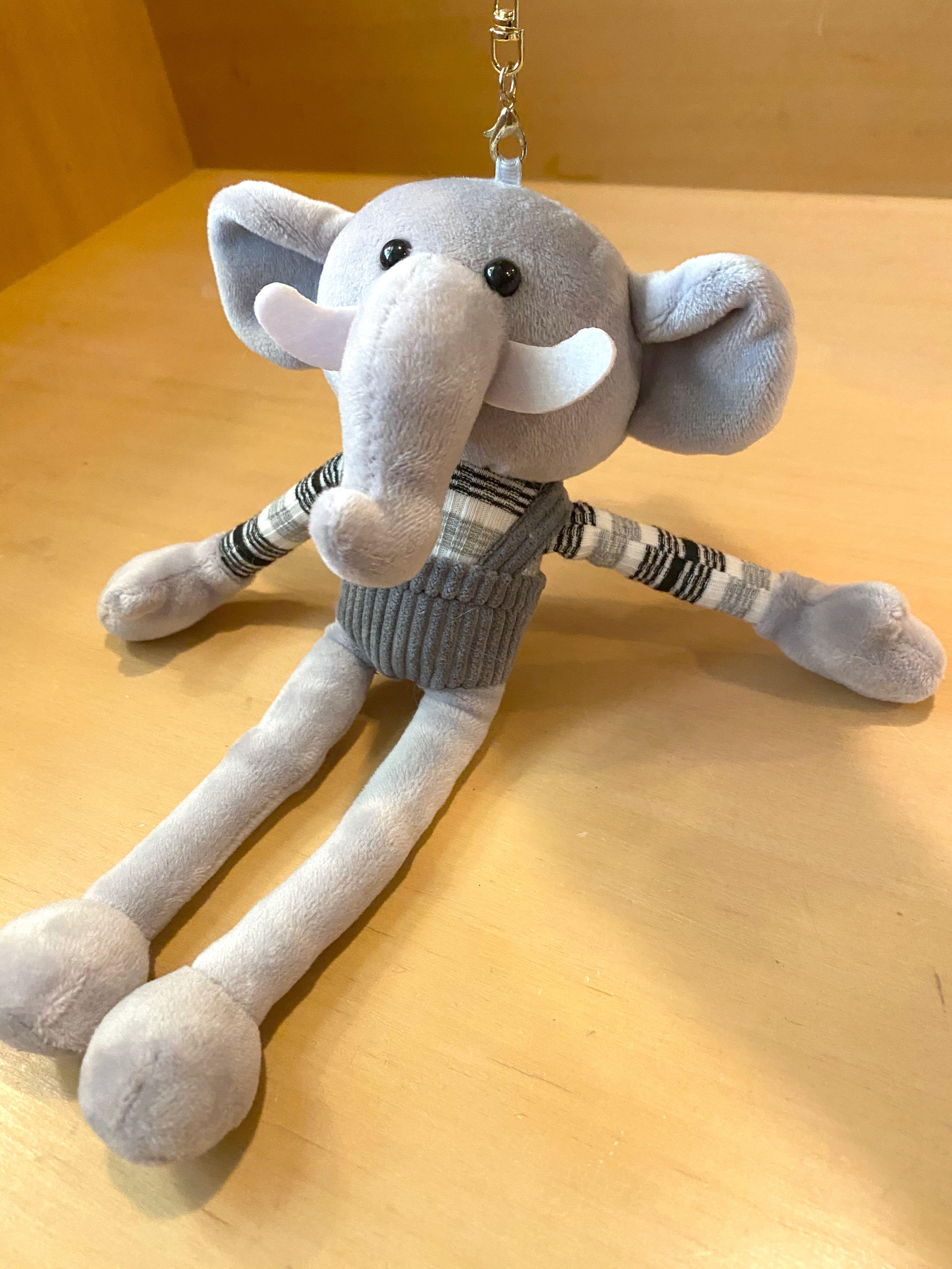 大象鑰匙圈吊飾玩偶