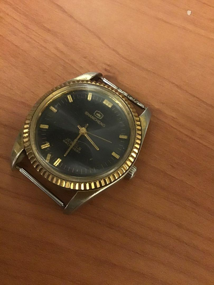 重慶山城手捲機械錶
