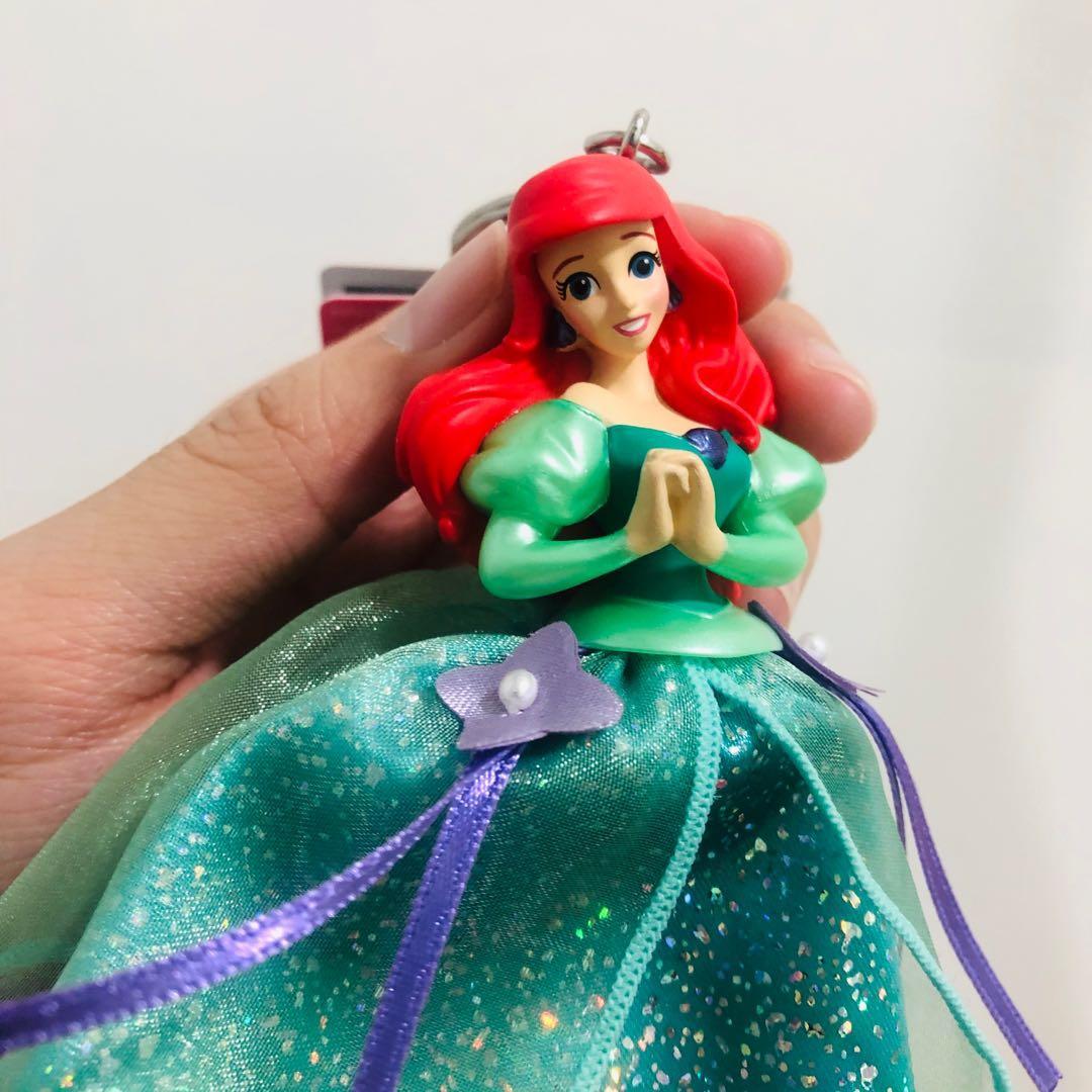 迪士尼 小美人魚吊飾
