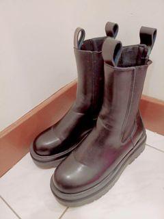 長靴 黑靴 軍靴 靴子 靴
