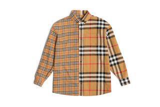 稀珍寶物- Burberry xGosha Rubchinskiy 俄羅斯設計師 聯名款 羊毛襯衫