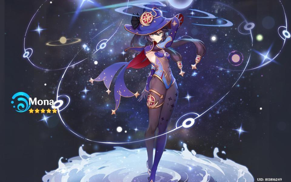 Akun Mona+Ganyu genshin Impact Murah meriah