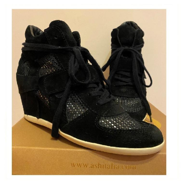 ASH Bowie楔型厚底休閒鞋