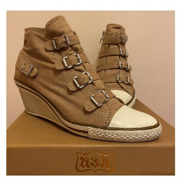 Ash Genial 低楔型帆布運動鞋