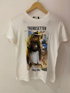 Bershka white tshirt