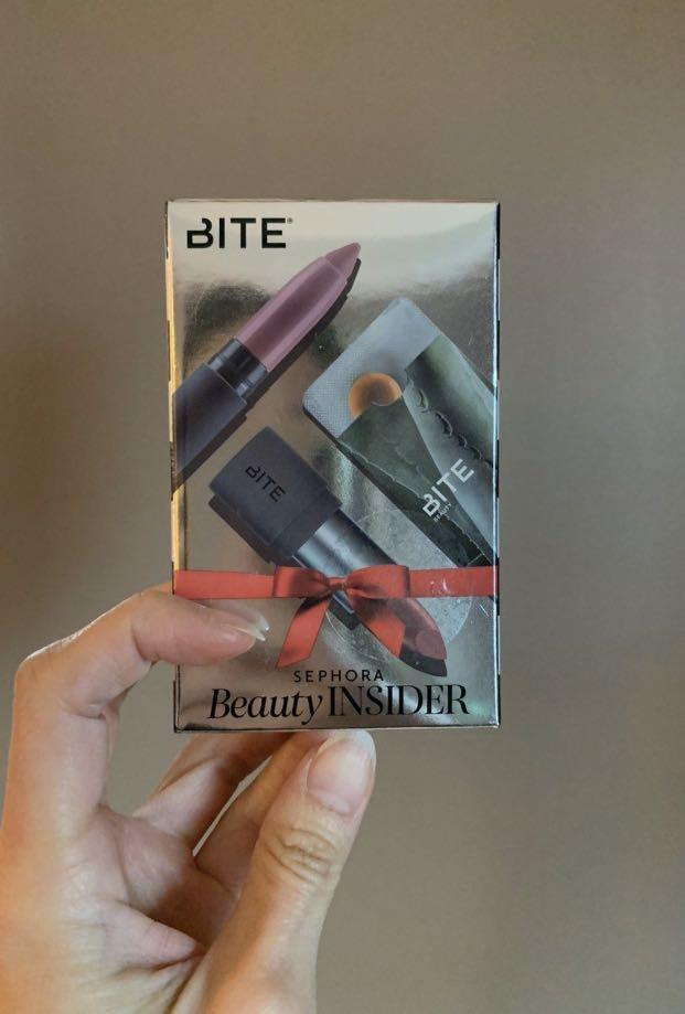 BNIP Discontinued Bite Beauty Amuse Bouche Lipstick & Matte Creme Lip Crayon