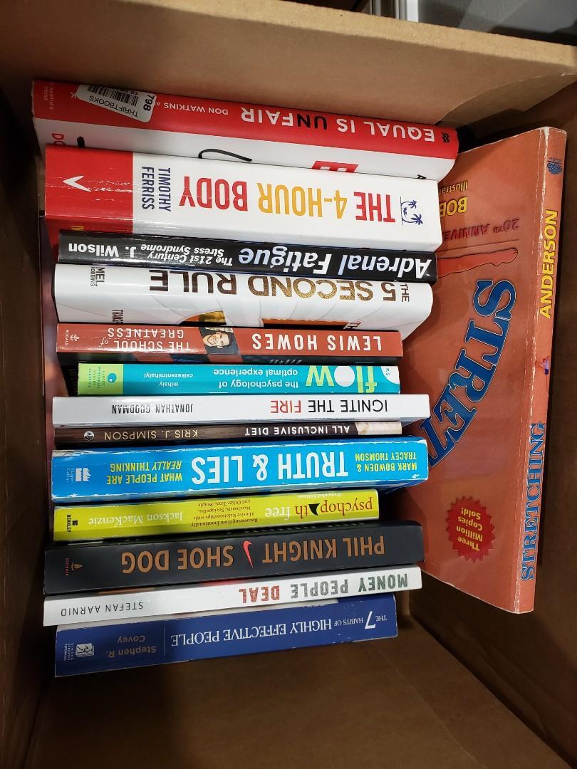 Books - $5 each