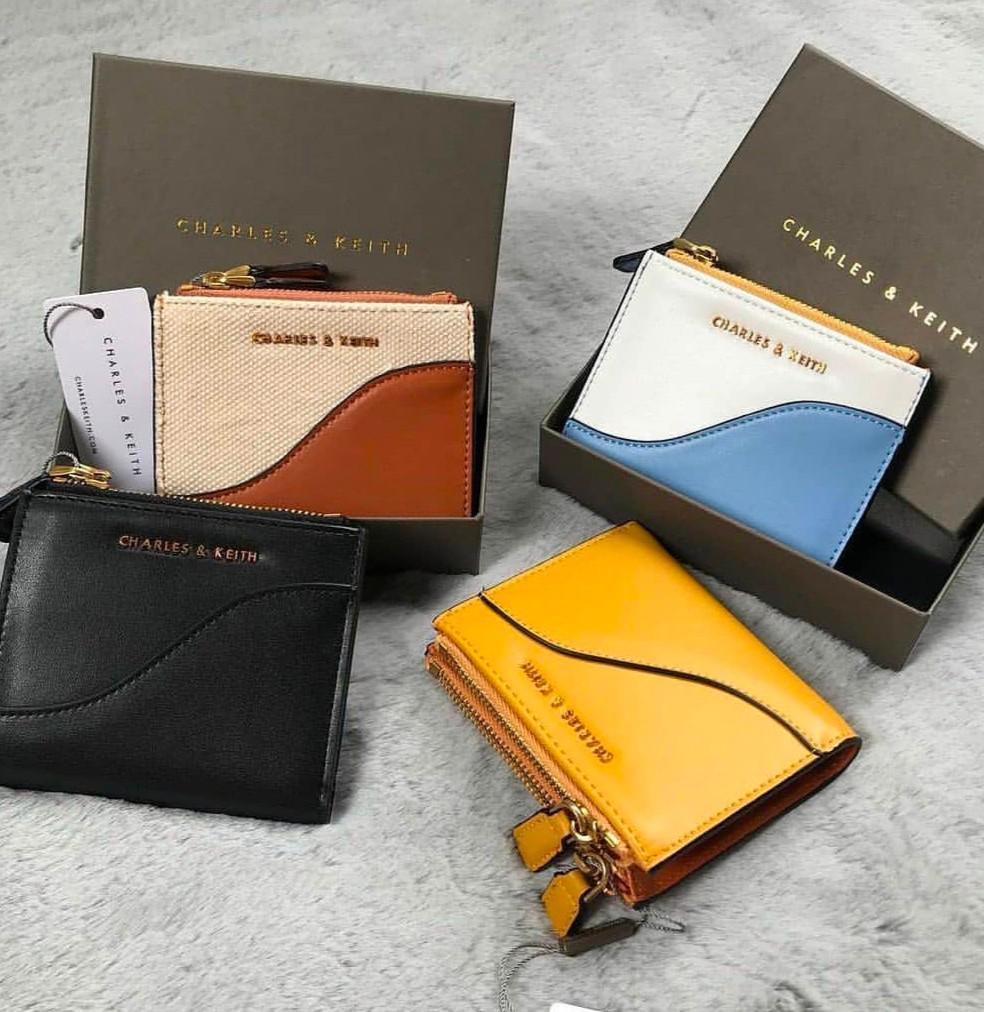 Charles & Keith Zip Top mini wallet