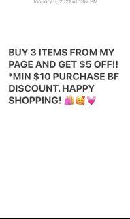CHECK OUT MY DISCOUNT OFFER! 💓