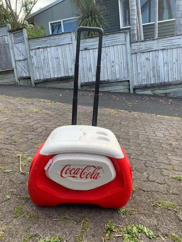 Coke trolley chilly with usb