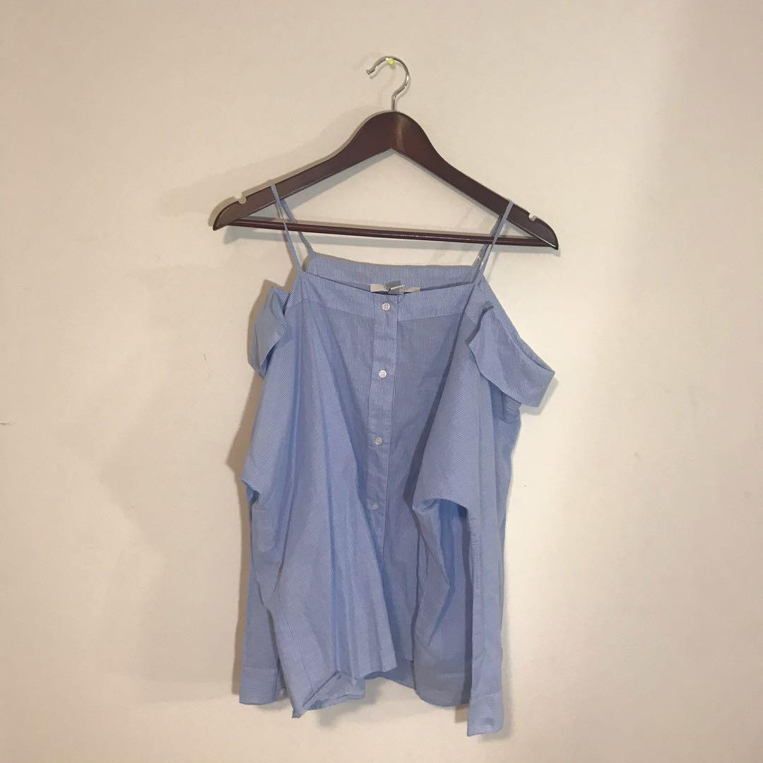 F21 Off shoulder blouse
