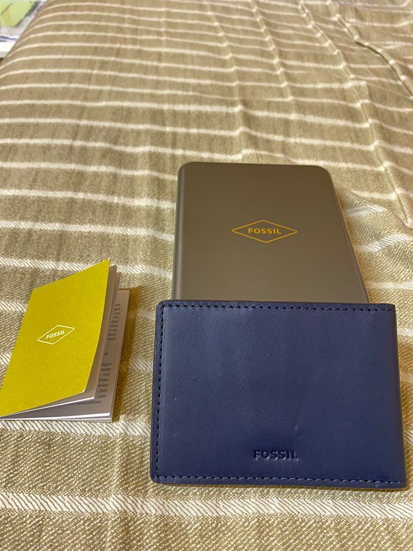 [FOSSIL]Fossil真皮名片夾/卡夾(九成新)