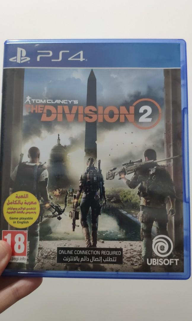 game kaset ps4 the division 2 (no nego)