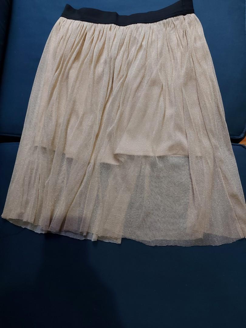 Glittery skirt- large
