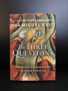 HARDBOUND The Three Questions by Don Miguel Ruiz, Barbara Emrys - Brand New