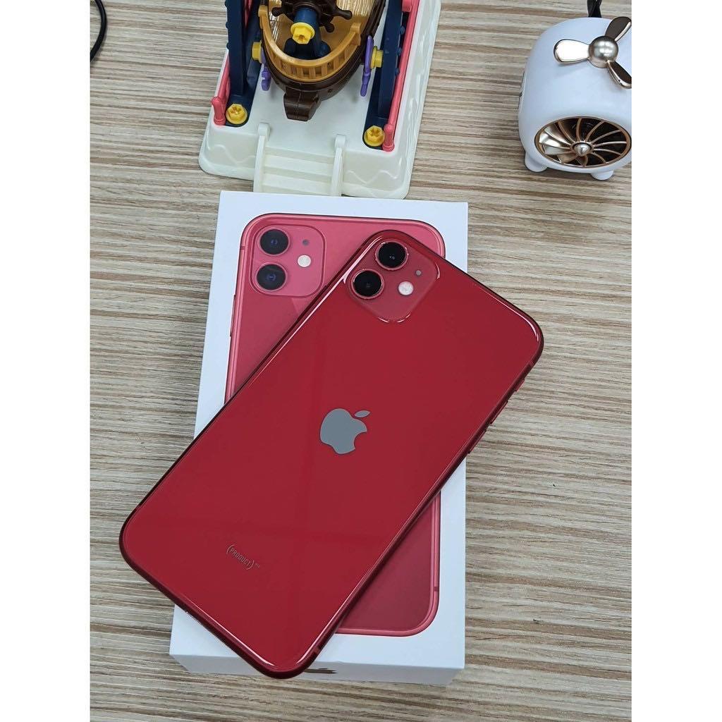 iPhone11  256gb 6.1吋 紅台中面交佳