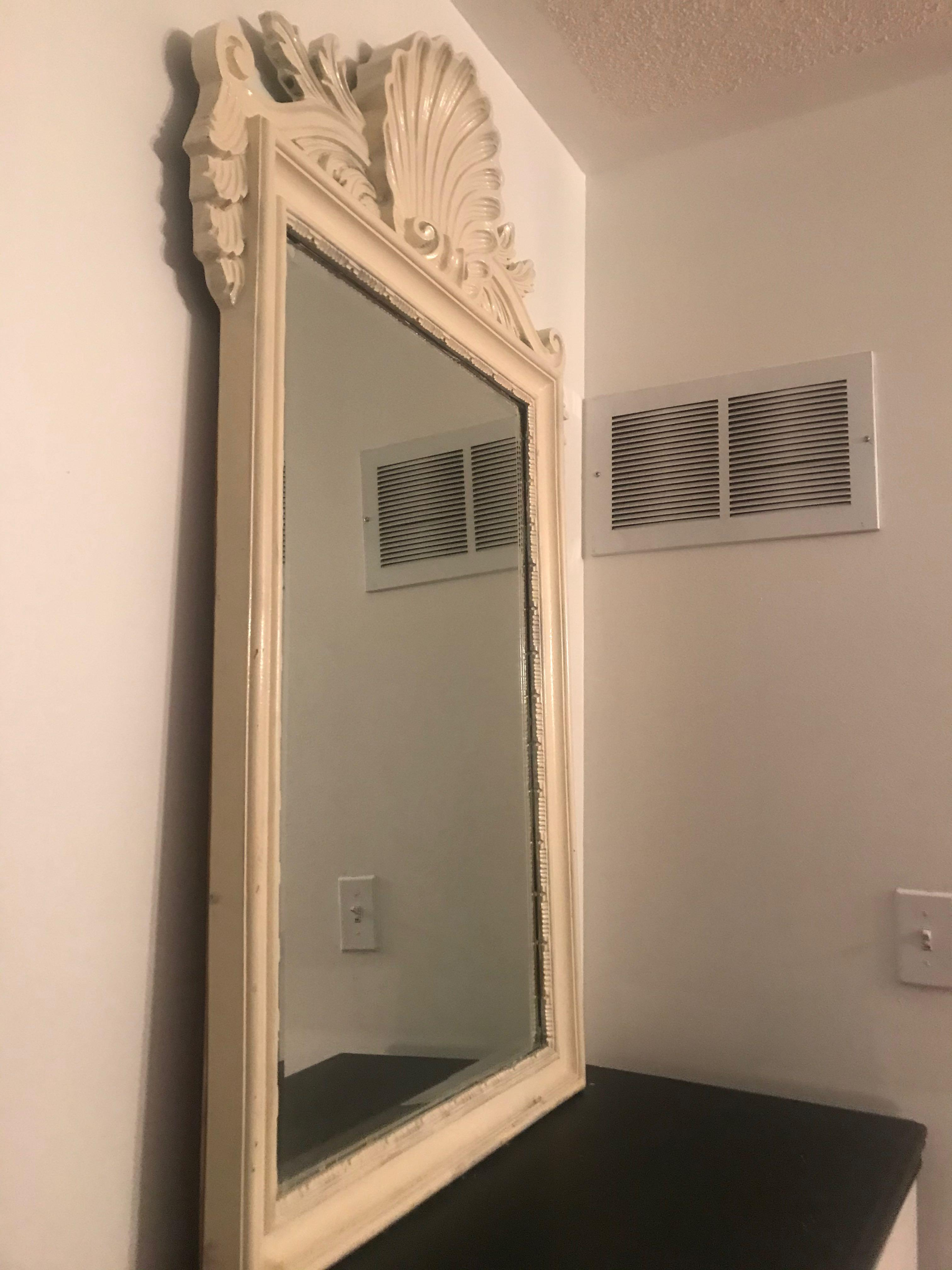 Ivory mirror for sell 50$