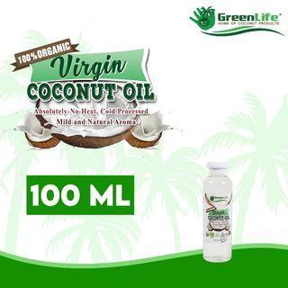 100% Organic Virgin Coconut Oil 100ml