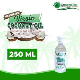100% Organic Virgin Coconut Oil 250ml