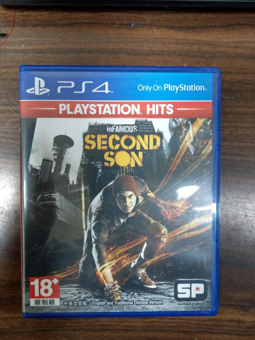 PS4 惡名昭彰第二之子中文版in famous second son