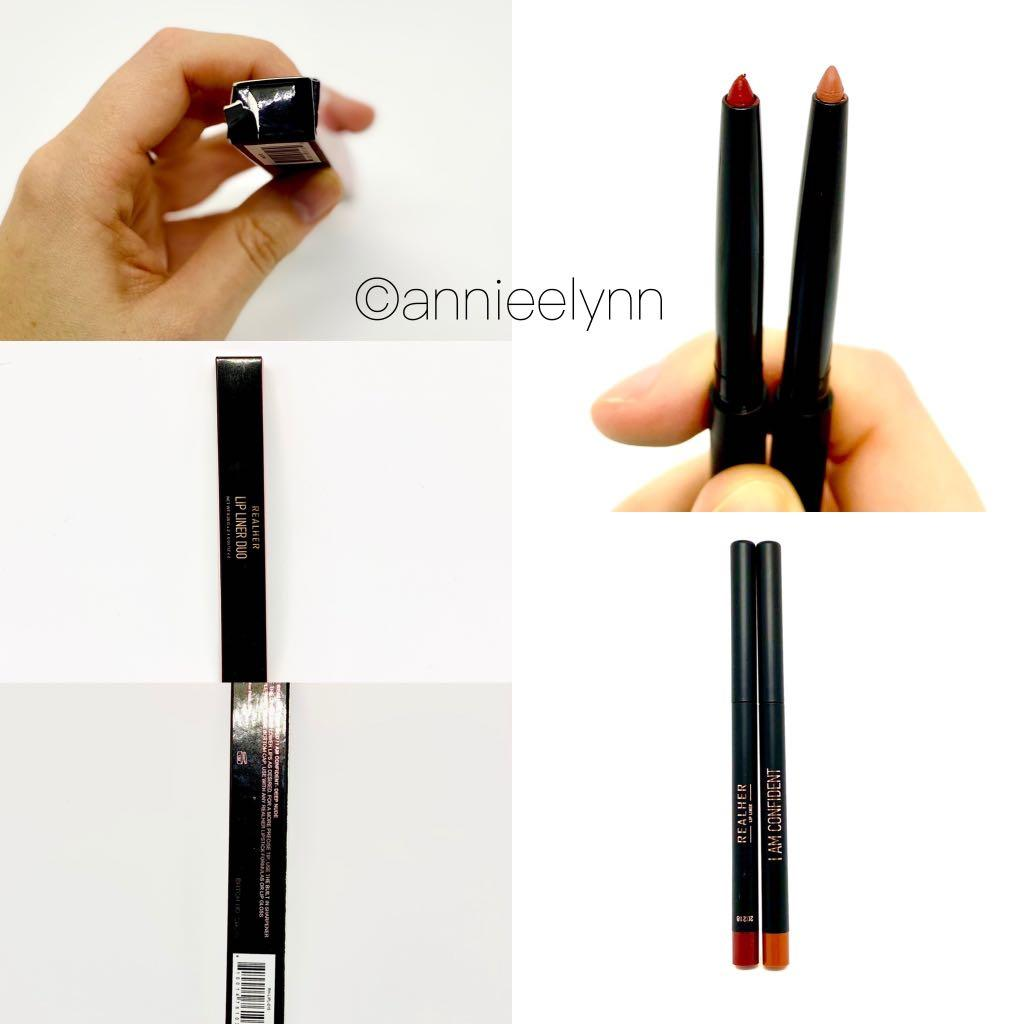 Real Her Lip Liner Duo in Be Yourself/ I Am Confident
