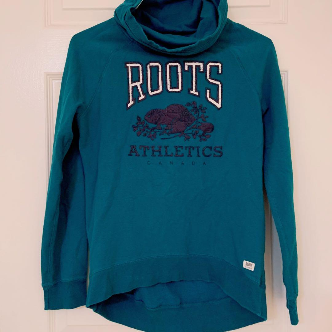 Roots cowl neck sweater