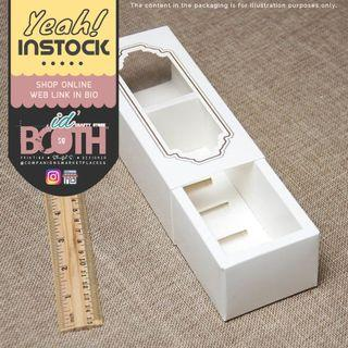 (🌼SALE) A Box fit 5 Macaroon with Clear Window