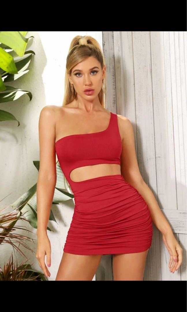 Shein asymmetrical dress
