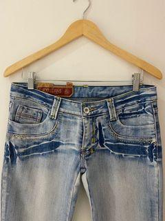 Vintage low waist jeans