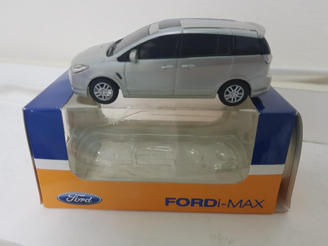 1/43原廠福特Ford i-max模型車 塑製