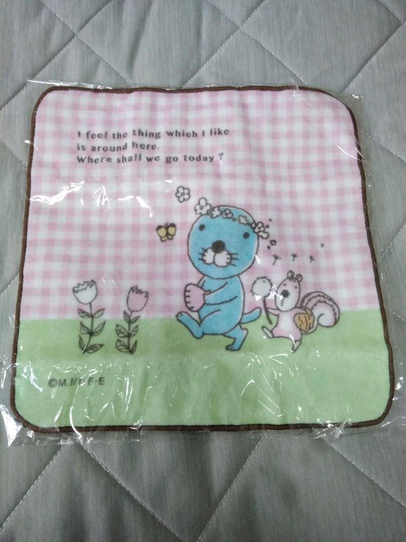 全新.日本小方巾
