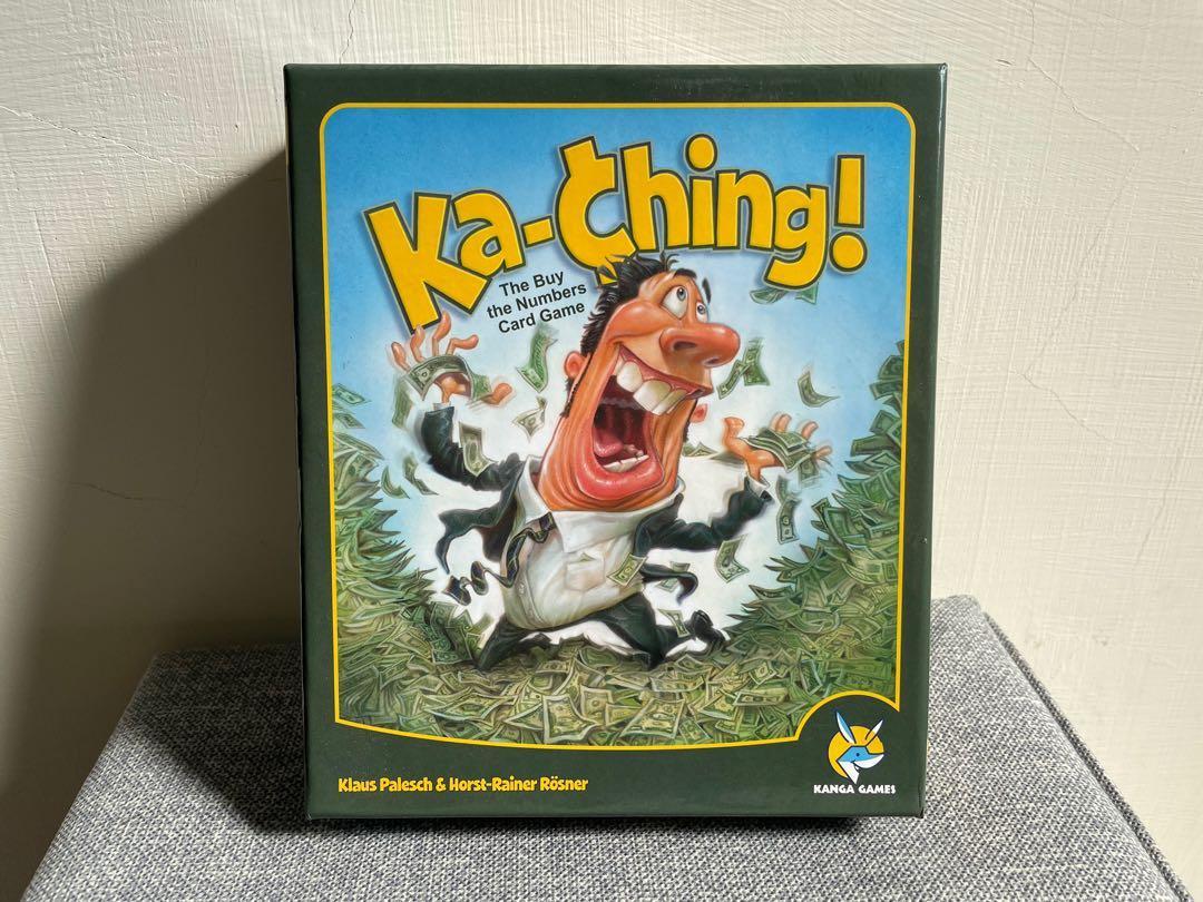 二手桌遊 Ka Ching繁中版(僅拆封)