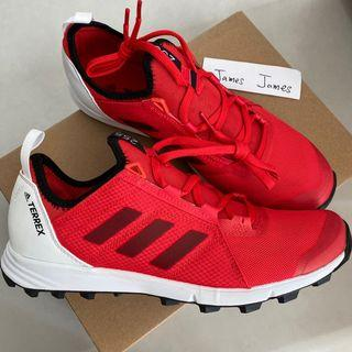 全新 New Adidas Terrex Agravic Speed Trail Running Shoes, size (US8.5 UK 8 EUR 42) 越野跑/行山 鞋