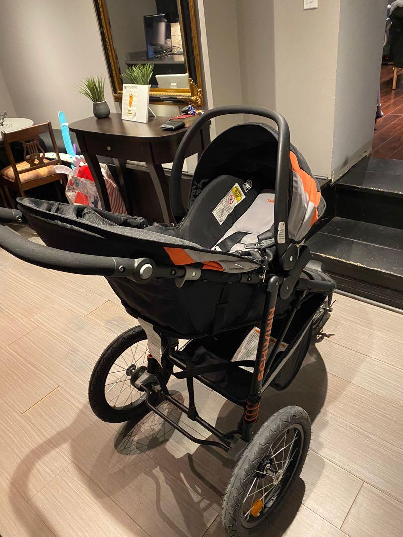 AMAZING CONDITION STROLLER+CARSEAT