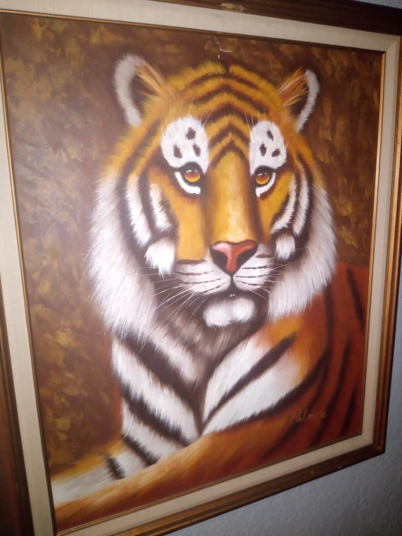 Antique art collection