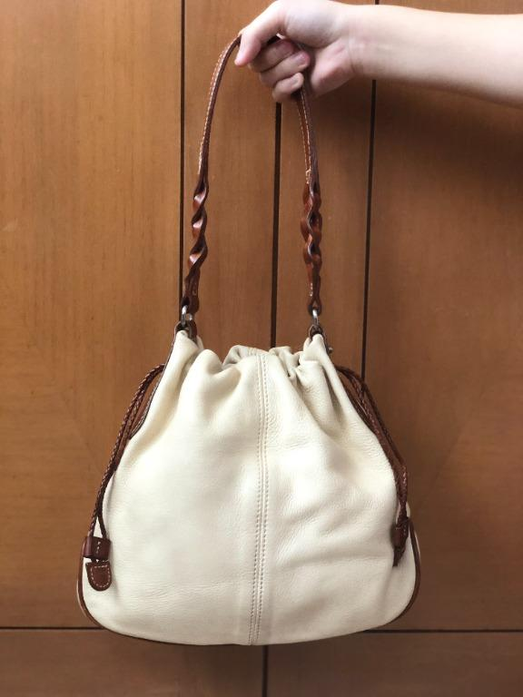 #awal2021 ORIGINAL Beige AIGNER Bucket Bag