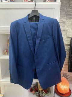 Blue Suit and pants ala Zara