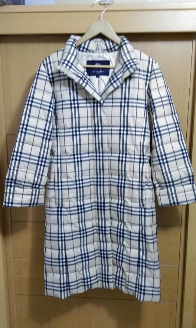 日本製Burberry羽絨大衣
