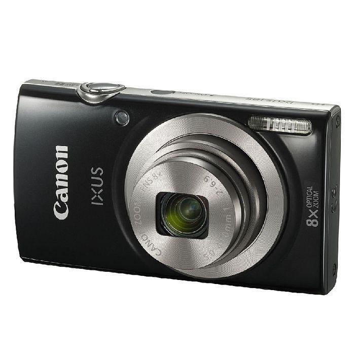 Canon 佳能 IXUS 185 數位相機 28mm廣角8倍光學變焦 相機 黑色
