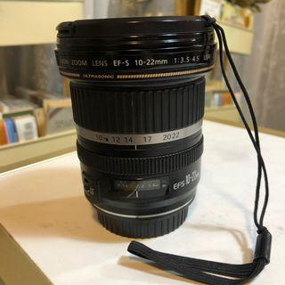 Canon Wide Angle Lens 10-22mm (Used)