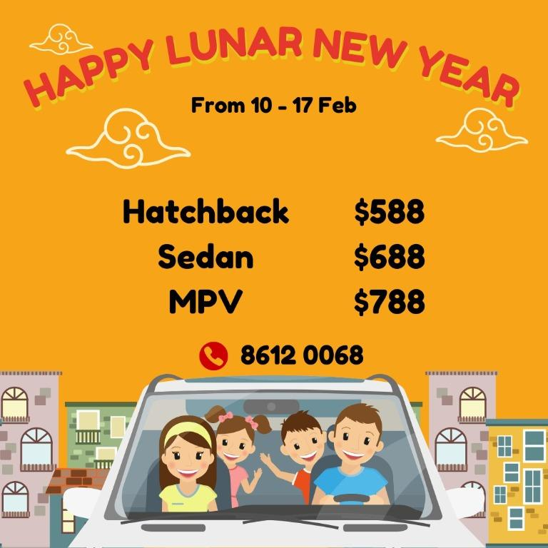 CNY Promo Car Rental
