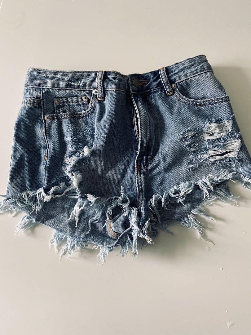 cotton on denim shorts