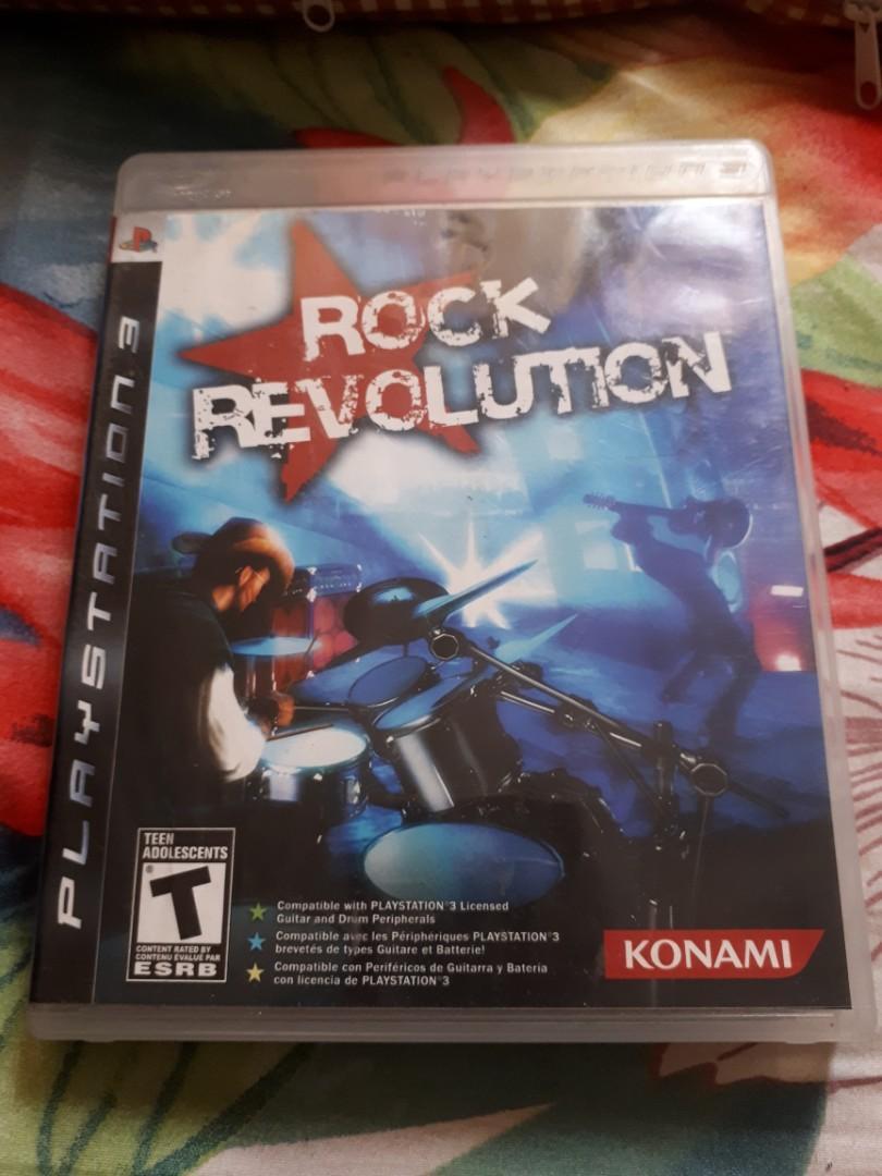 "Dijual CD Game PS Playstation 3 ""Rock Revolution"""