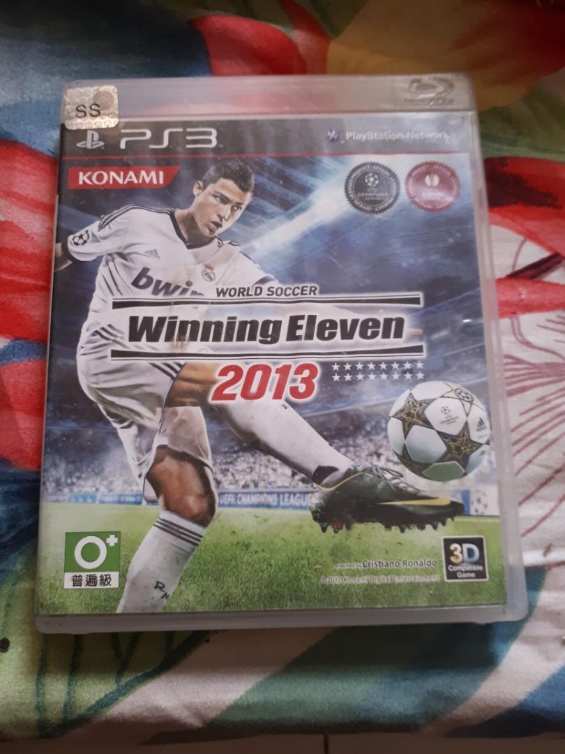 Dijual Game Ps Playstation 3 Winning Eleven 2013