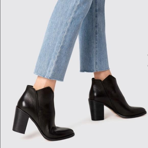 Dolce Vita | Shep Leather Booties 8.5