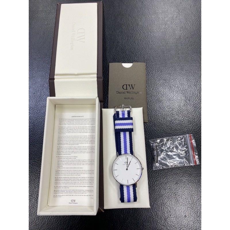 瑞典DW DANIEL WELLINGTON CLASSIC GLASGOW 36MM 手錶!
